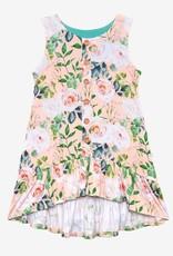 Posh Peanut Harper Henley Sleeveless Hi Low Dress