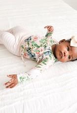 Posh Peanut Harper Tie-Front Ruffled Kimono 0/3M