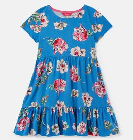 Joules Evelyn Dress Blue Floral
