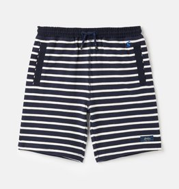 Joules Jed Stripe Shorts Navy White Stripe