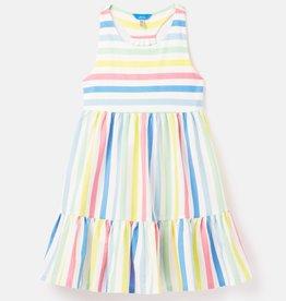 Joules Juno Dress Multi Stripe