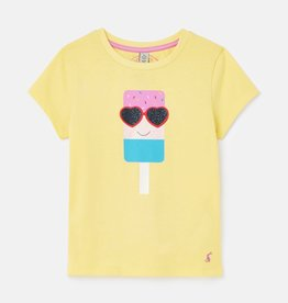 Joules Pixie Shirt Yellow Lolly