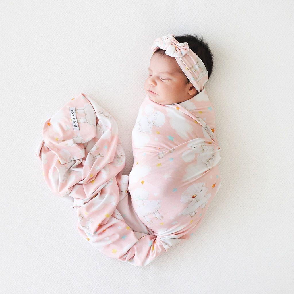 Posh Peanut Mary Infant Headwrap