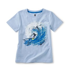Tea Collection Barrel Wave Graphic Tee Iceberg