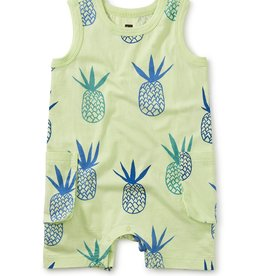 Tea Collection Cargo Pant Tank Baby Romper Pineapples