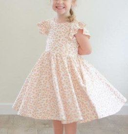 Ollie Jay Pink Leopard Olivia Dress