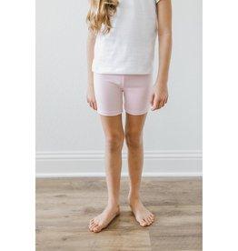 Mila & Rose Light Pink Twirl Shorts
