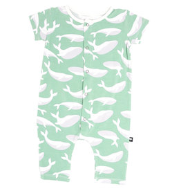 Sweet Bamboo Shortie Green Whale
