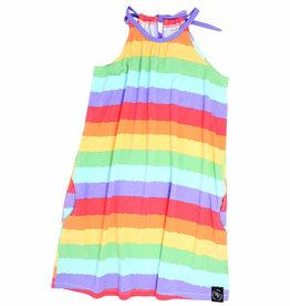 Sweet Bamboo Egyptian Dress Rainbow Stripe