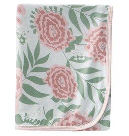 Kickee Pants Swaddling Blanket Fresh Air Florist
