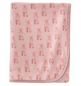 Kickee Pants Swaddling Blanket Baby Rose Ballet