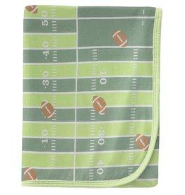 Kickee Pants Swaddling Blanket Football