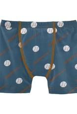 Kickee Pants Boxer Brief Deep Sea Baseball