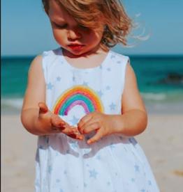 Cheeni Moonbow Baby Dress & Bloomer Set Stars