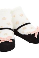 Mud Pie Black Star Socks
