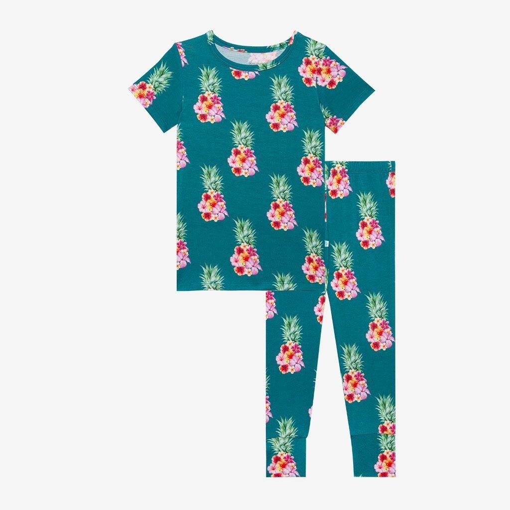 Posh Peanut Ananans SS Basic Pajama Set