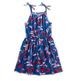 Tea Collection Tie Shoulder Dress Floral Breeze