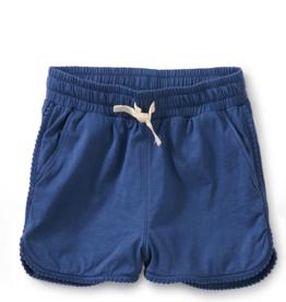 Tea Collection Tie Waist Shorts Cobalt