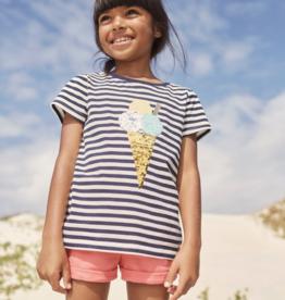 Joules Astra Shirt Ice Cream Stripe