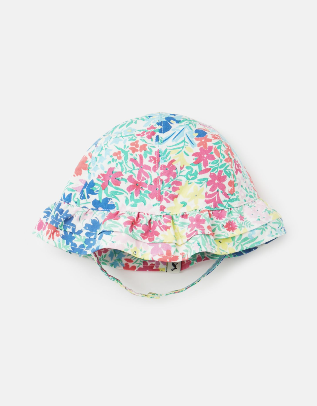 Joules Buzzy Hat White Floral