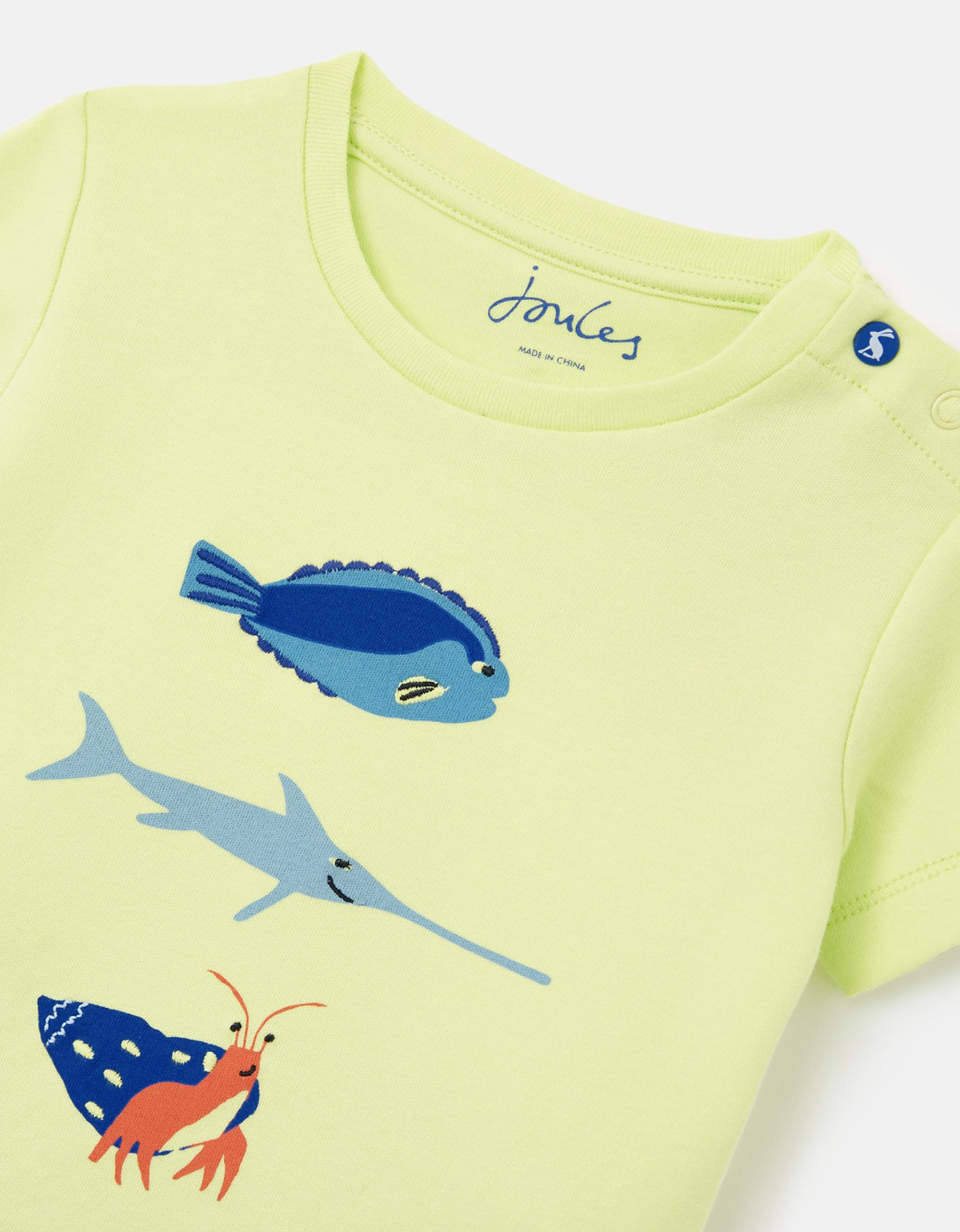 Joules Barnacle Set Lime Fish