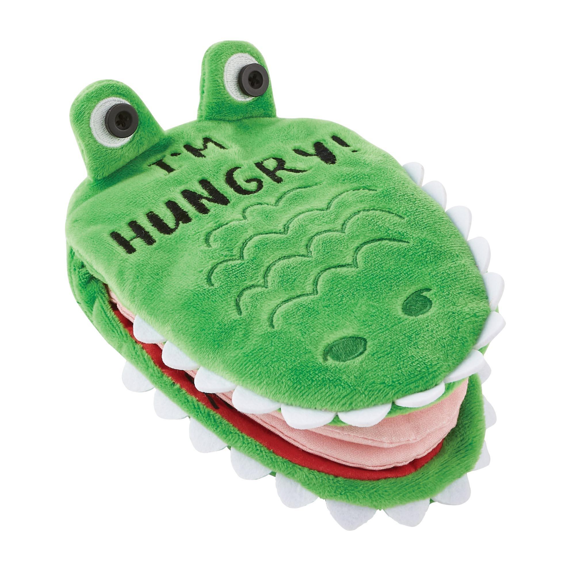 Mud Pie Alligator Plush Book