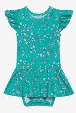 Posh Peanut Cassandra Ruffled Twirl Skirt Bodysuit