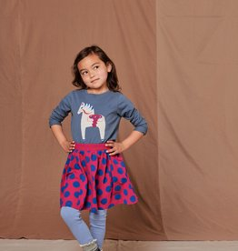 Tea Collection Twirl Skirt Painted Dots