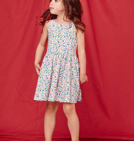 Tea Collection Strappy Back Skirted Dress Sprinkles
