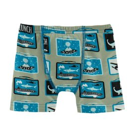 Kickee Pants Boxer Brief Silver Sage Lunchboxes