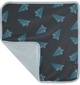 Kickee Pants Lovey Lined Paper Airplanes