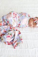Posh Peanut Bellamy Infant Swaddle & Headwrap Set