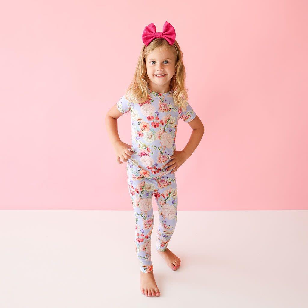 Posh Peanut Bellamy Short Sleeve Basic Pajama