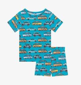 Posh Peanut Marino Basic Short Sleeve & Short Pajama