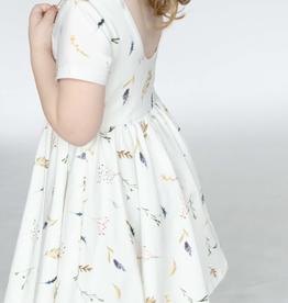Ollie Jay Classic Twirl Dress Dried Floral