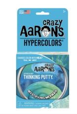"Crazy Aaron's Putty World Mystifying Mermaid 4"" Thinking Putty"