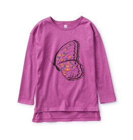 Tea Collection Butterfly Tunic Tee Passionfruit
