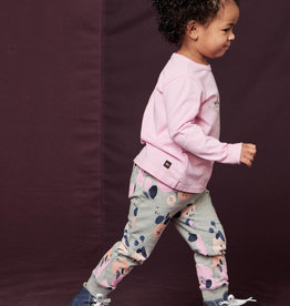 Tea Collection Printed Baby Joggers Heather Grey