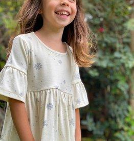 Vignette Emily Dress Cream Snowflake