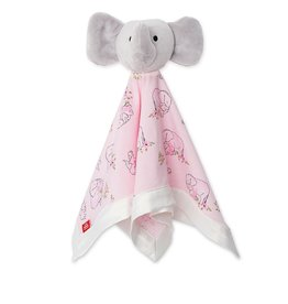 Magnificent Baby Pink Love You A Ton Modal Elephant Lovey Blanket