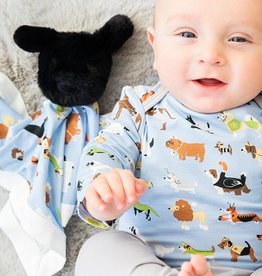Magnificent Baby In-Dognito II Modal Puppy Lovey Blanket