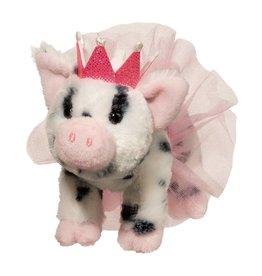 Douglas Loretta Pig w/ Spots, Crown & Tutu