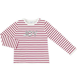 Mayoral LS Stripes T-Shirt Red
