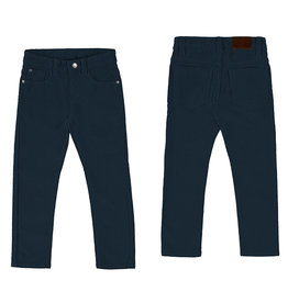 Mayoral Basic Slim Fit Cord Trousers Blue