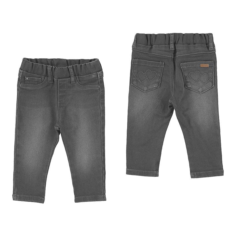 Mayoral Baby Basic Denim Pants Medium Gray