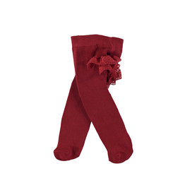Mayoral Flounces Tights Red