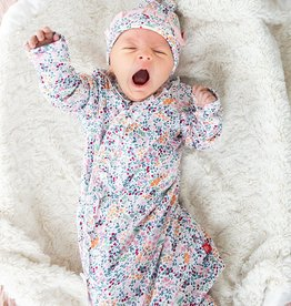 Magnificent Baby Sheffield Organic Cotton Magnetic Gown & Hat