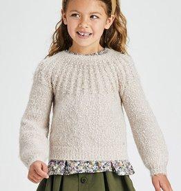 Mayoral Sweater Beige
