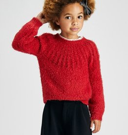 Mayoral Sweater Red