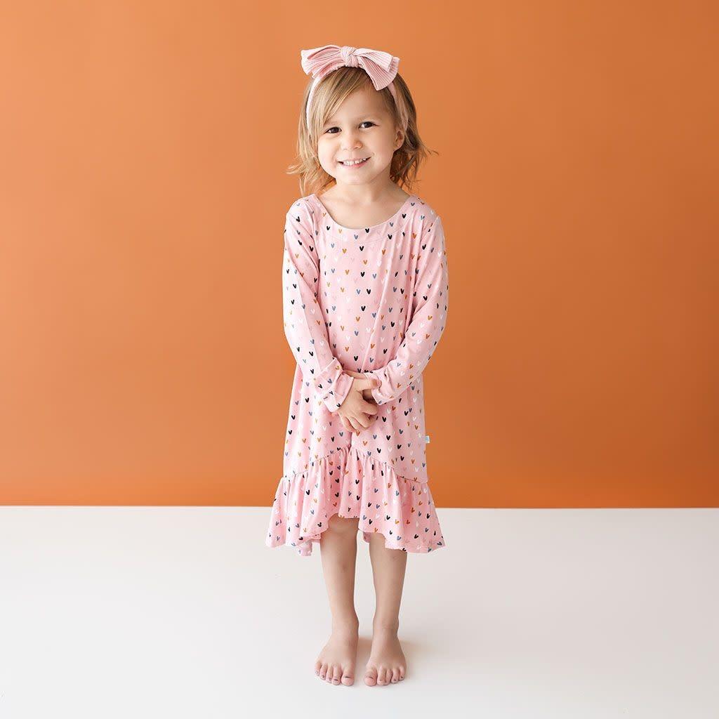 Posh Peanut Cassidy LS Basic Hi Low Dress